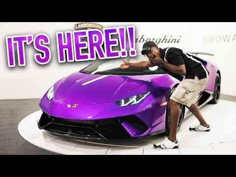 Collecting my Lamborghini Huracán Performante!