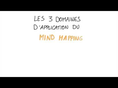 Mind Mapping : les 3 domaines d'application.