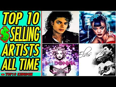 TOP 10 Best Selling Music Artists Of All Time
