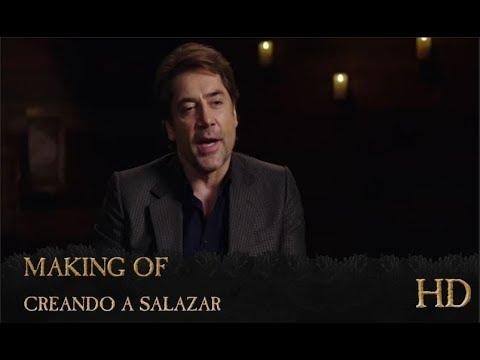 Piratas del Caribe: La Venganza de Salazar   Making of: 'Creando a Salazar'   HD