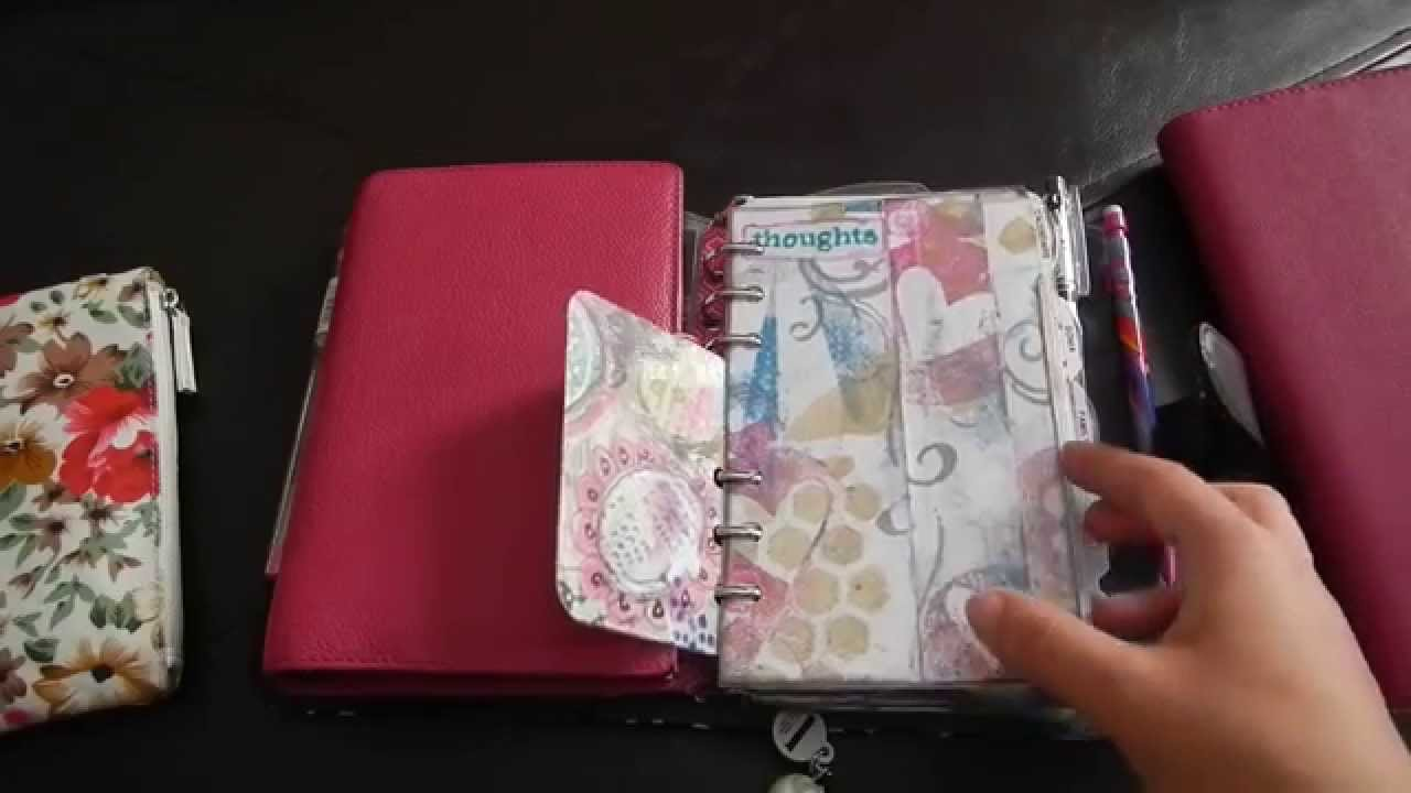 May 2014 Planner Set Up Weekly Scrapbook Youtube