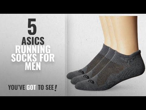 Top 10 Asics Running Socks [2018 ]: ASICS Cushion Low Cut Socks (Pack of 3), Grey Heather, Small