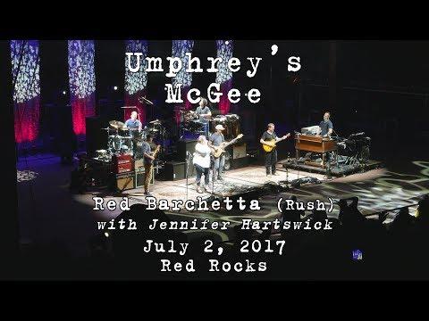 Umphrey's McGee w/Jennifer Hartswick: Red Barchetta (Rush) [4K] 2017-07-01 - Red Rocks