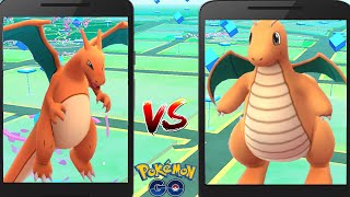 Legendary DRAGONITE CHARIZARD Final Evolution Completed w/ Epic Pokemon Go Gym Battle