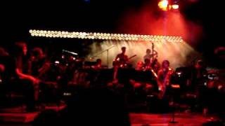 The Notwist & Andromeda Mega Express Orchestra - Gloomy Planets (live, Munich 2009)