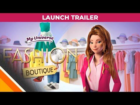My Universe : Fashion Boutique l Launch Trailer l Microids & Black Sheep Studio