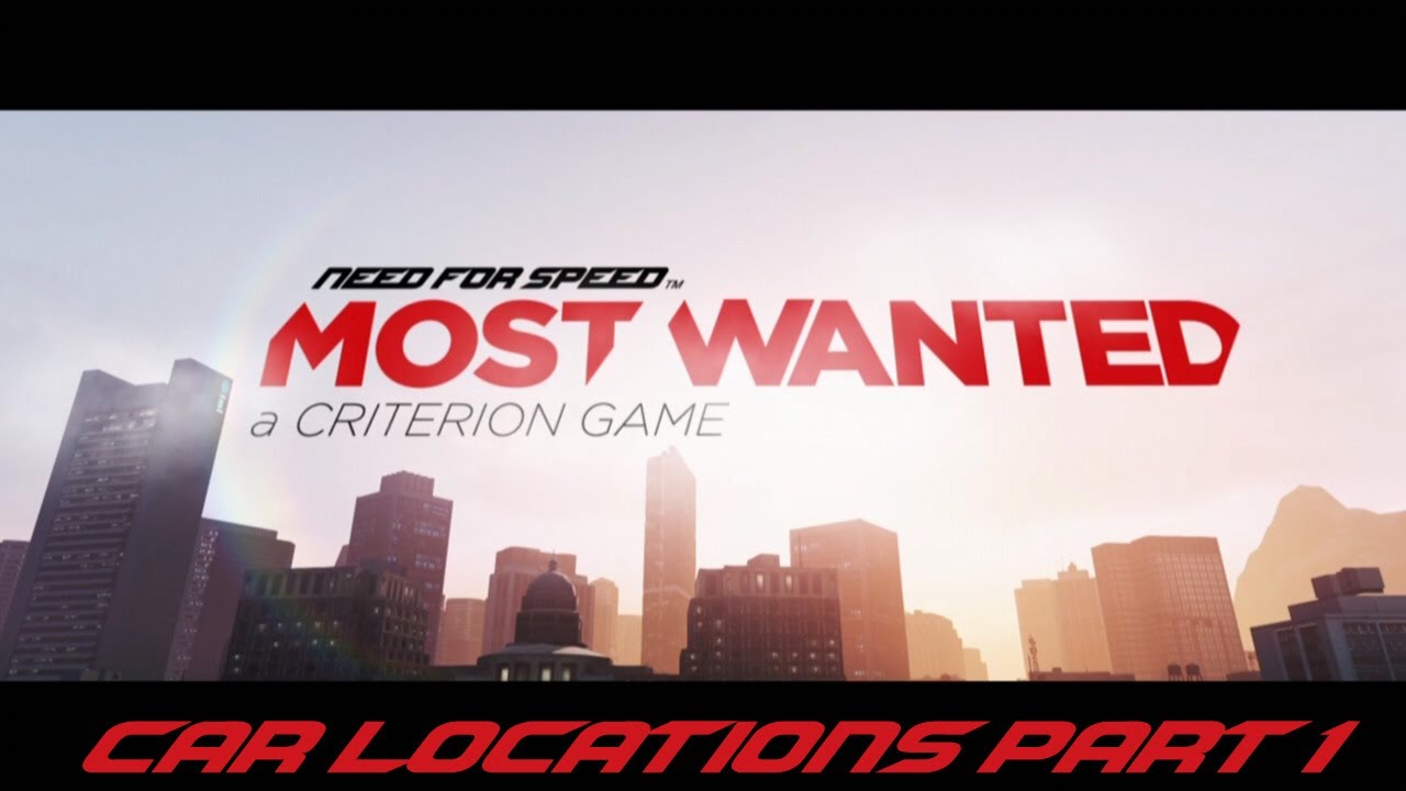 need for speed most wanted 2012 car locations part 1 youtube. Black Bedroom Furniture Sets. Home Design Ideas