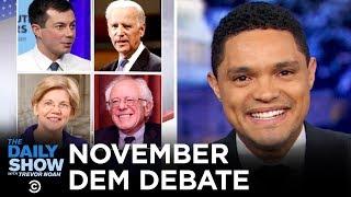 2020 November Democratic Debate in Atlanta  The Daily Show