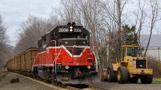 P&W Power on the Branford Steam Railroad, 4-14-14
