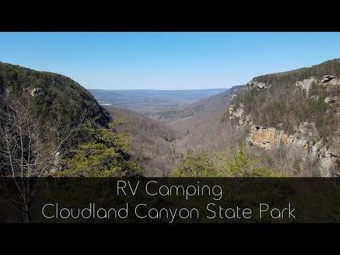 RV Camping - Cloudland Canyon State Park
