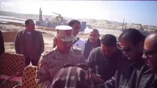 صحفيوا الاسماعيلية يكرمون اللواء كامل الوزير