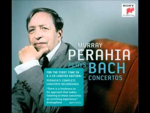 JS Bach  Keyboard Concerto No 4, I Allegro  Perahia  BWV 1055