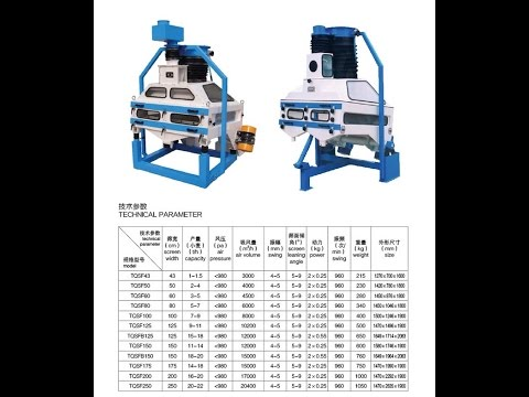high quality hot sell high efficiency grain cleaner/wheat destoner