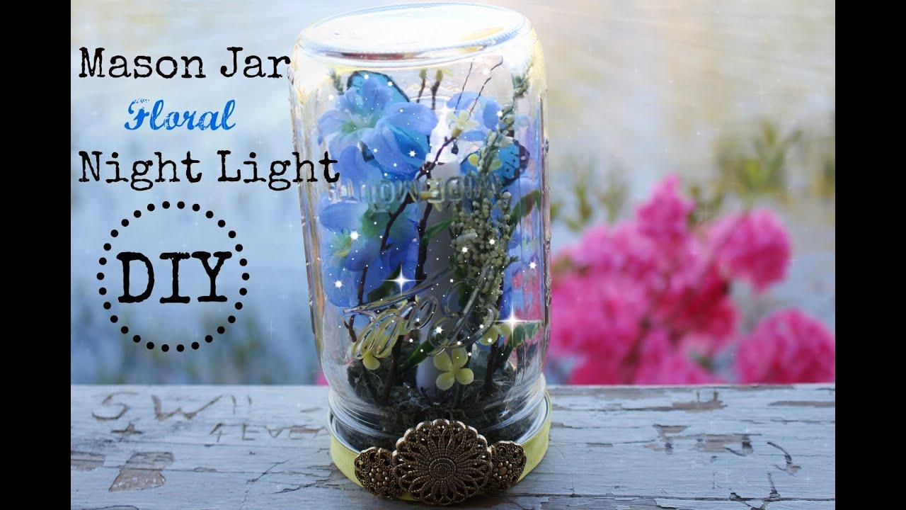 Summertime DIY Collab Mason Jar Floral