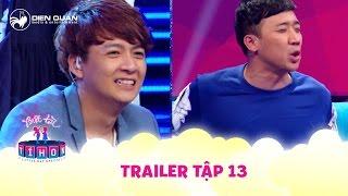 Biệt tài tí hon | trailer tập 13: Trấn Thành khiến Ngô Kiến Huy choáng váng khi hát Lạc trôi