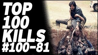Top 100 Kills & Deaths from The Walking Dead: 100-81