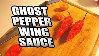 GHOST PEPPER WING SAUCE: Cooking w/ Ninja