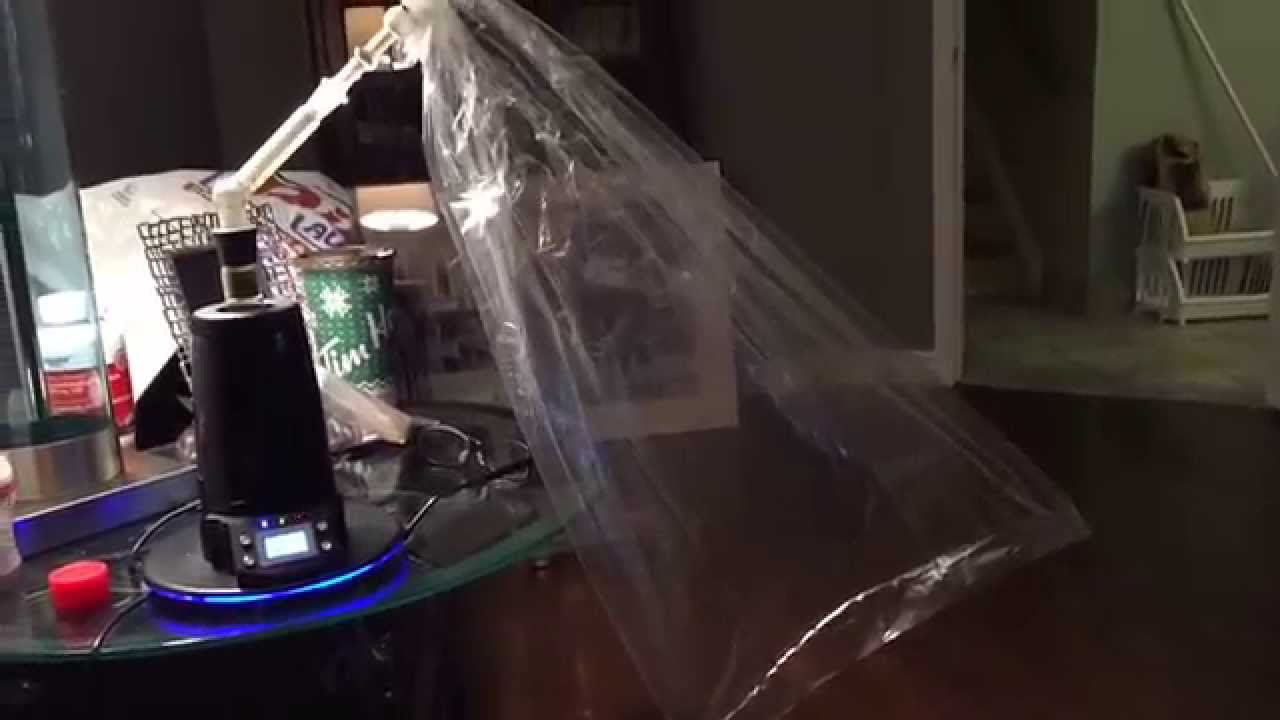 Arizer Extreme Q Bag Hits Time Lapse Fills