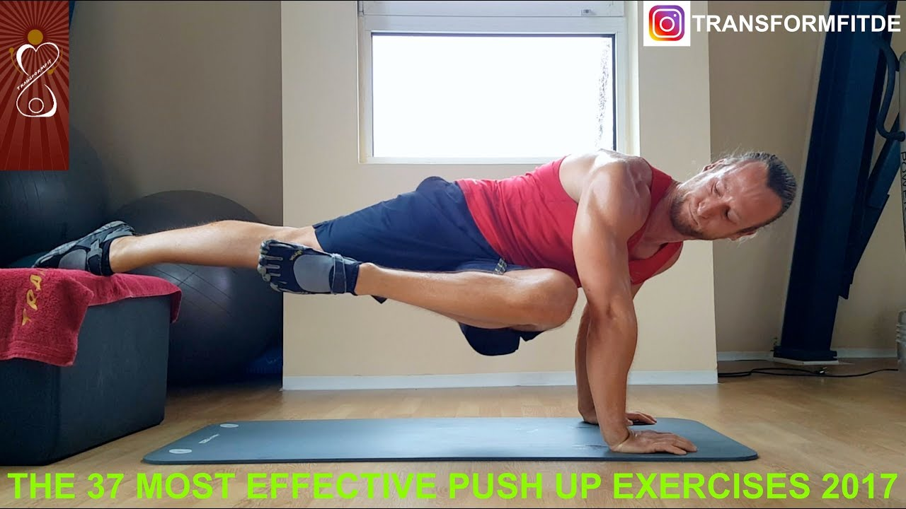 The most effective exercises for the press