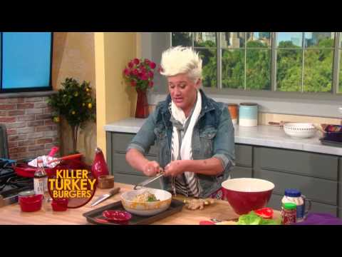 Anne Burrells Killer Turkey Burgers
