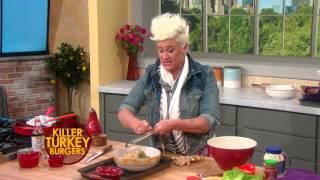 Anne Burrell's Killer Turkey Burgers