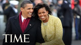 Barack Obama Made A Romantic Gesture During Michelle Obama