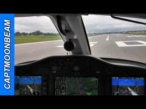 Citation Mustang Landing: ILS approach and ATC Radio Communications
