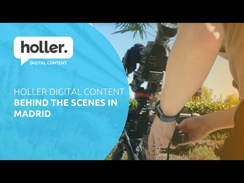 Behind the Scenes | Madrid | Tech TV Video Production