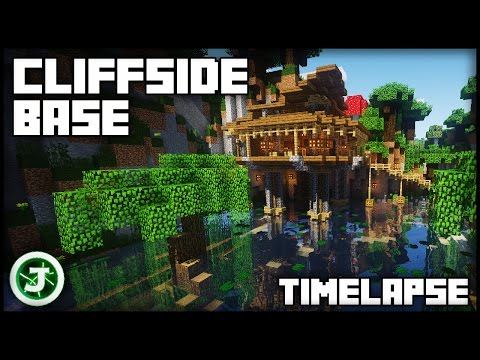 Minecraft Timelapse - Cliffside Base (With Download)