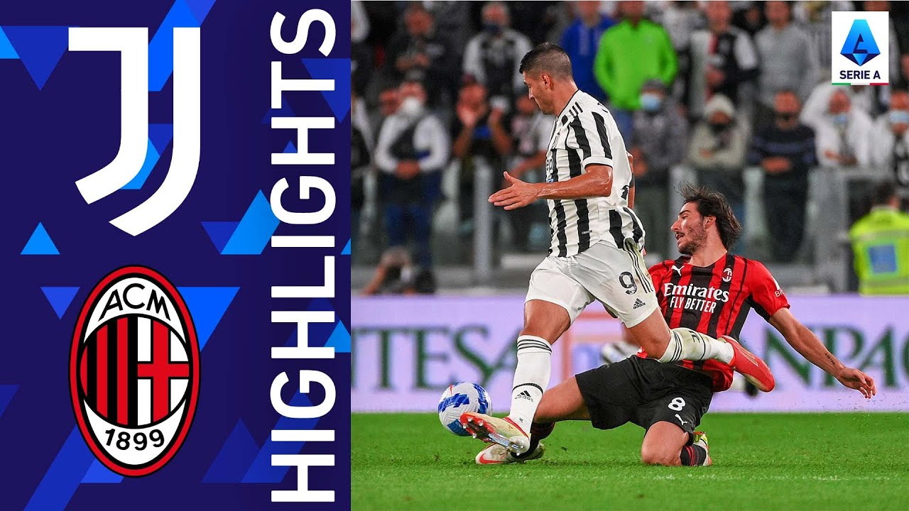 Download Juventus 1-1 Milan | Serie A's big match ends in a draw | Serie A 2021/22