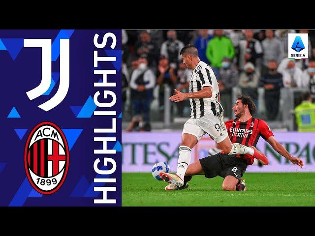 Juventus igualó ante Milan y continúa sin ganar en la Serie A