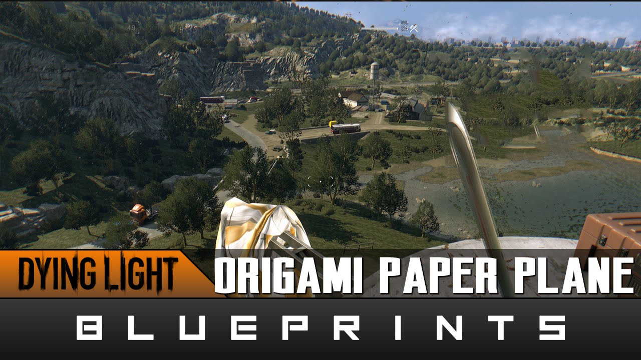 Dying light the following origami 101 paper plane weapon dying light the following origami 101 paper plane weapon blueprint location youtube malvernweather Choice Image