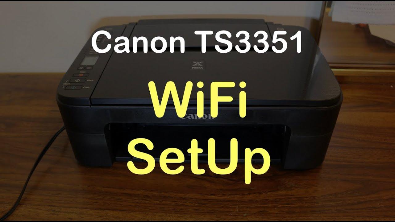 Canon TS20 WiFi SetUp review.