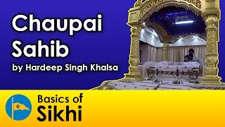 chaupai sahib for jagraj singh family by hardeep singh khalsa