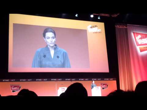 Angelina Jolie & Will Hague at End Sexual Violence in Conflict Zones Global Summit 2014