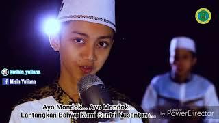 Download MetroLagu com   Ayo Mondok  Lirik Oleh Gus Azmi  Mars Nurul Qadim