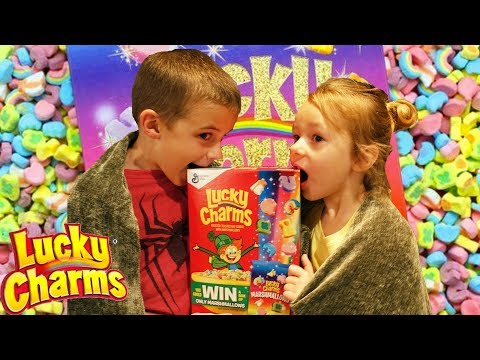 LUCKY CHARMS Marshmallows Only Cereal Box Contest