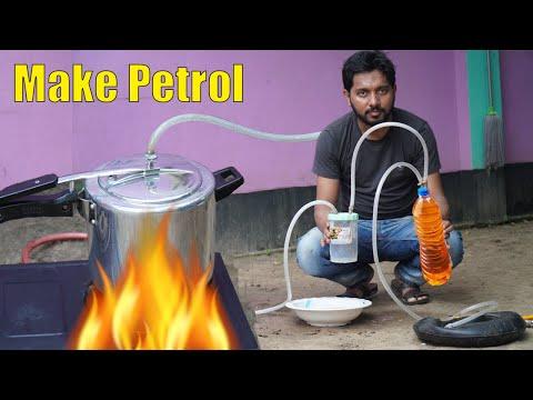 Plastic into petrol || Produce fuel petrol  from plastic waste