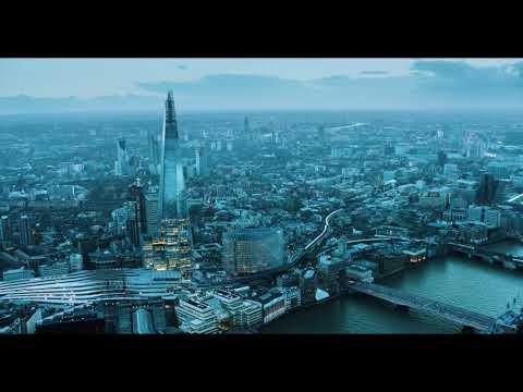 2017 London 4K aerial footage showreel