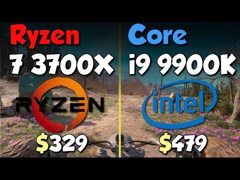 Ryzen 7 3700X Vs I9 9900K Test In 10 Games