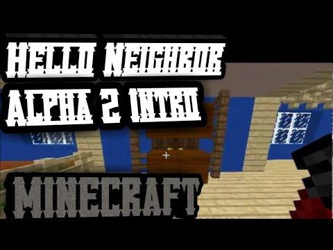 Hello Neighbor Alpha 2 Intro MINECRAFT VERSION thumbnail