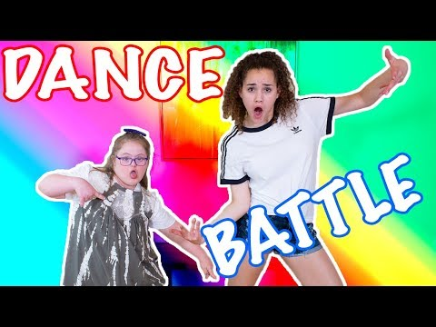 DANCE BATTLE!! Sarah Grace vs Gracie Haschak