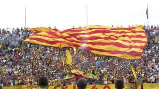 Telón aurirrojo | Aragua FC - Caracas FC | @SoloFutbol_VE  SoloFutbolVe.com.ve