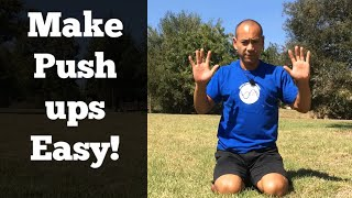 How to Easily Do a Proper Push Up