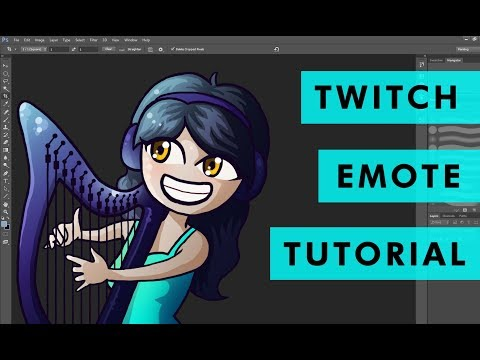 How to Make Emotes for Twitch Partners/Affiliates (Tutorial)
