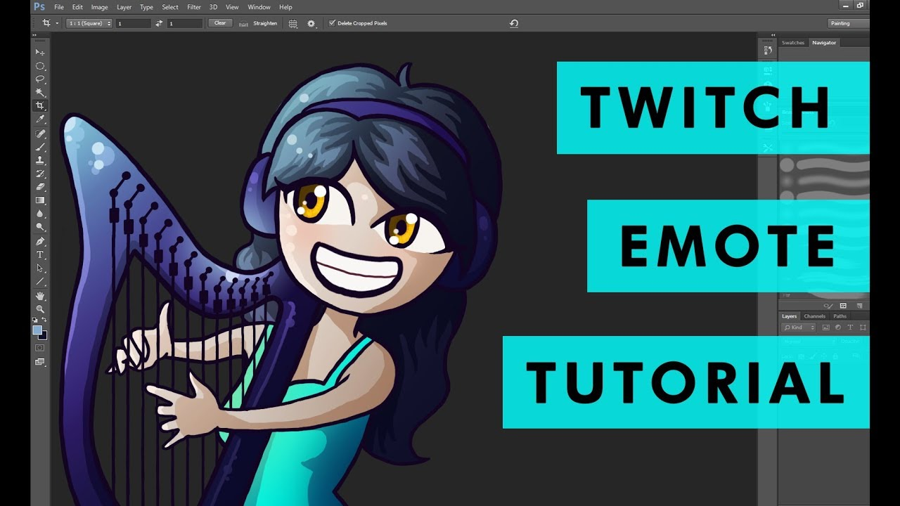 How to Make Emotes for Twitch Partners/Affiliates (Tutorial) [PART 1]