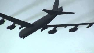 B 52 Stratofortress Flyby 三沢基地航空祭 2012