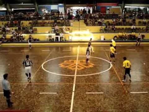 1o. Tempo da Final Intercolonial Paranaense de Futsal 2008 em Curitiba.MPG