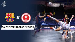Барса КПРФ 3 3 Тактический Анализ Голов Futsal Cup 2020 Лига Чемпионов Мини футбол futsalico