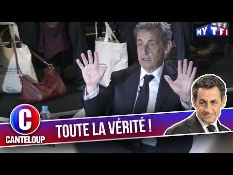 """Imitation de Nicolas Sarkozy - """"Toute la vérité ? Oh Pu**** !"""" - C'est Canteloup"""